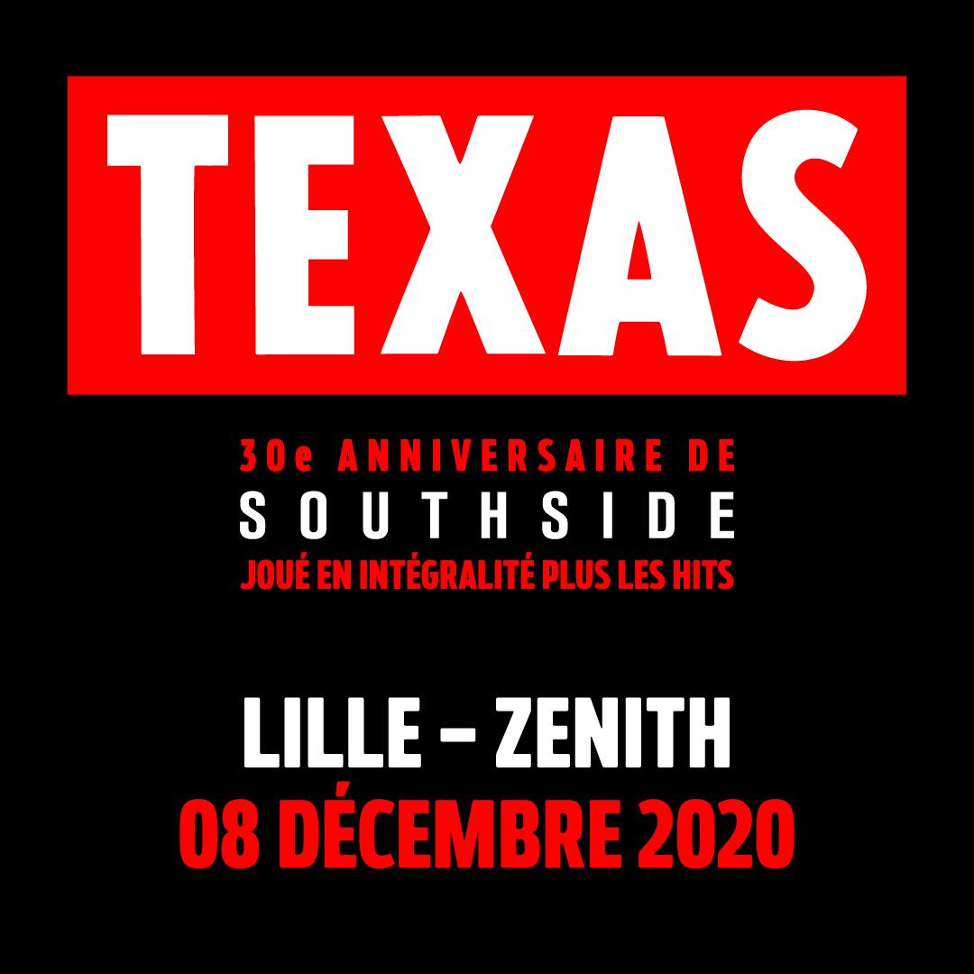 Texas - Zenith de Lille
